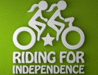 Riding For Indpendence Logo
